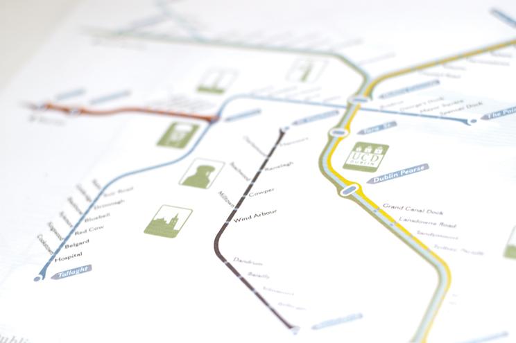Central Dublin detail