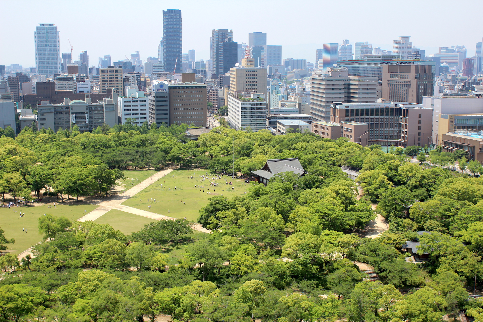 Large public park in Japan