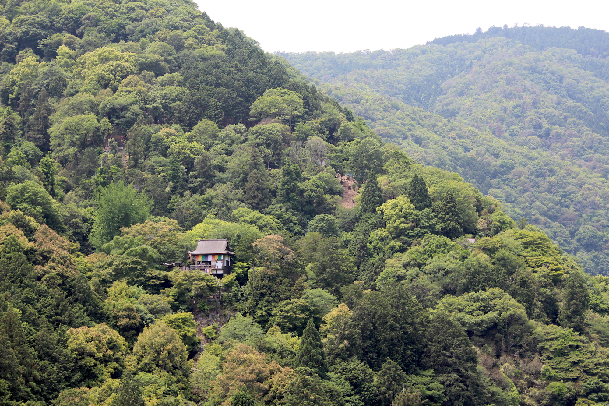 A small home in the the Arashiyama countryside