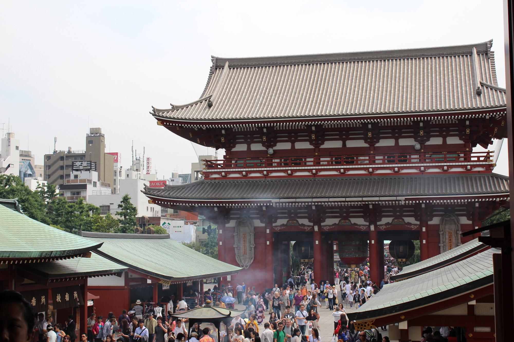 Kinryū-zan Sensō-ji in Asakusa, Tokyo