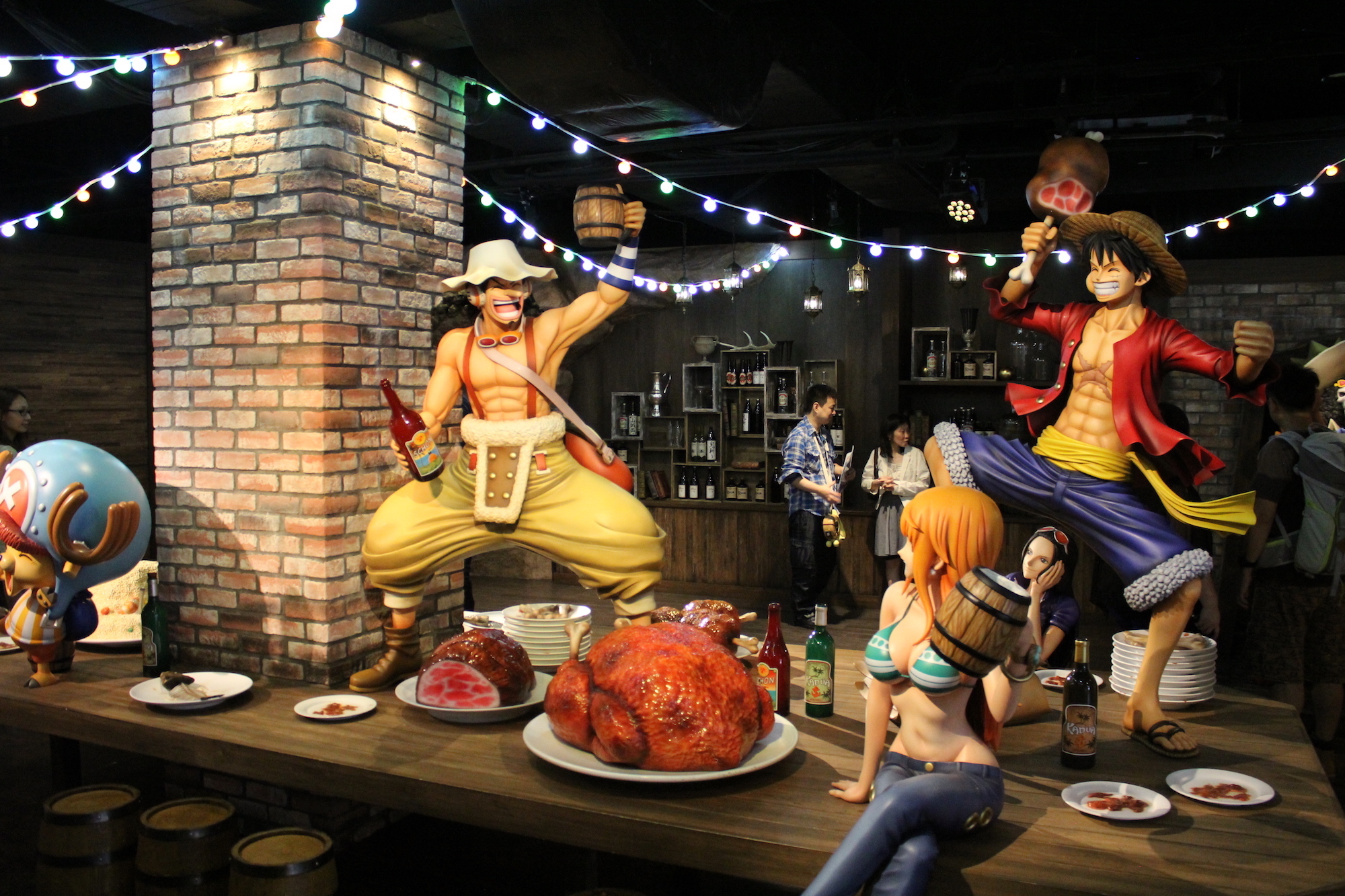 The OnePiece experience at Tokyo Tower