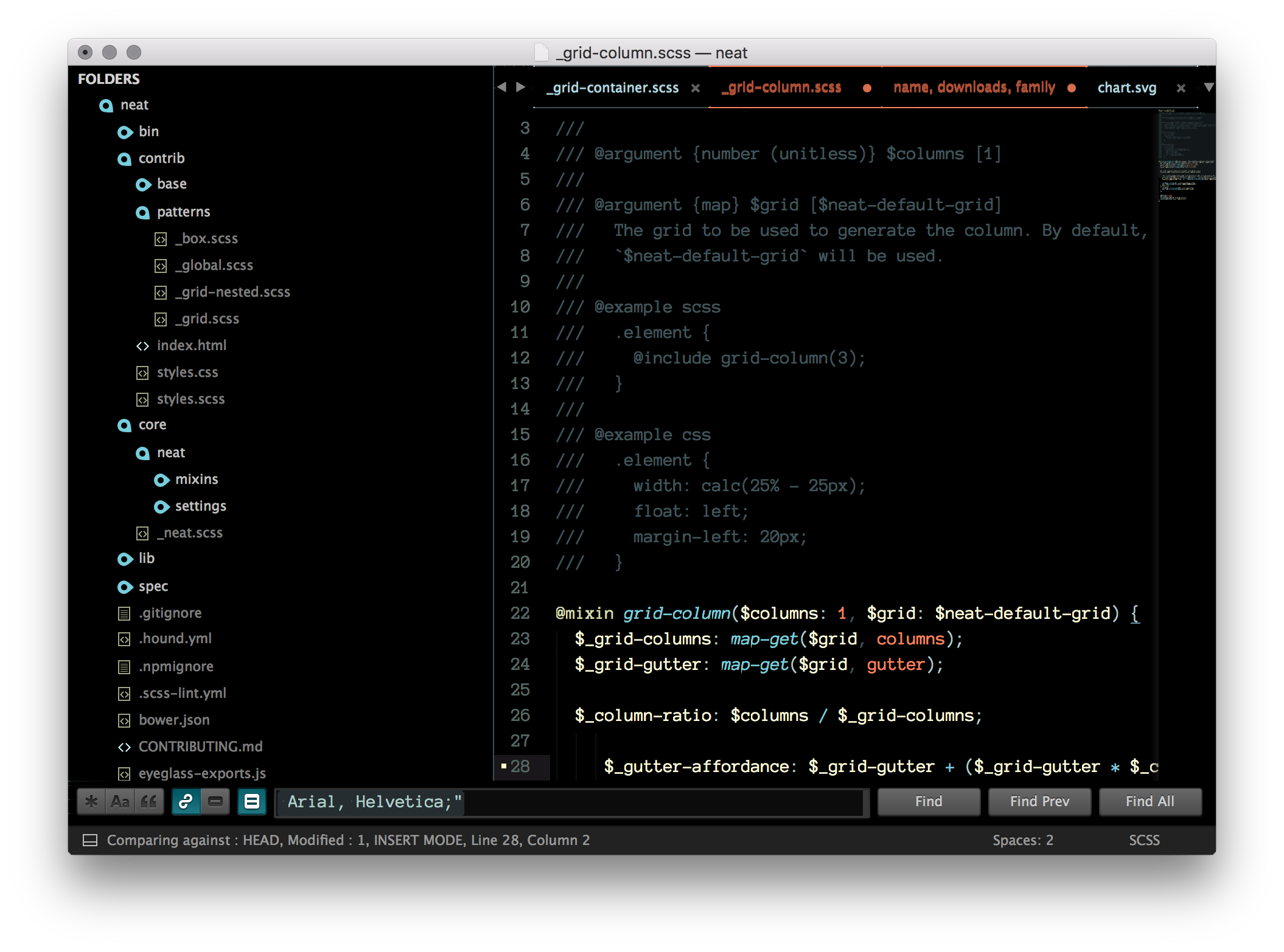 Tech 49 Sublime Text theme