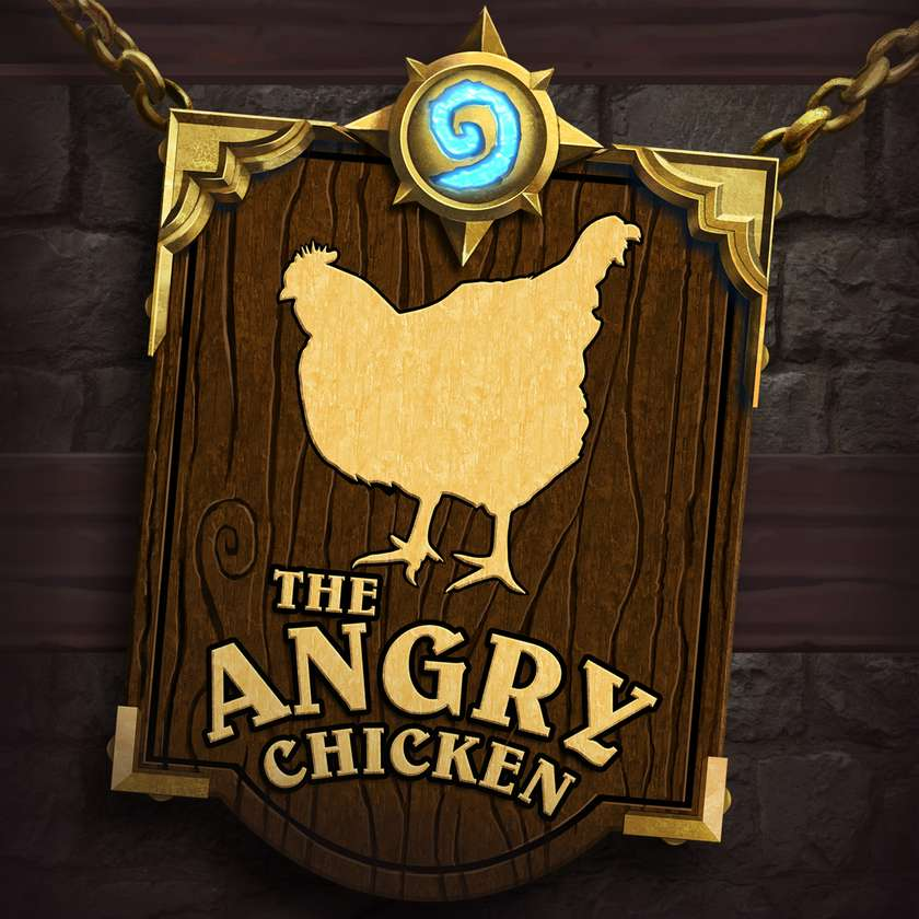 The Angry Chicken podcast cover art