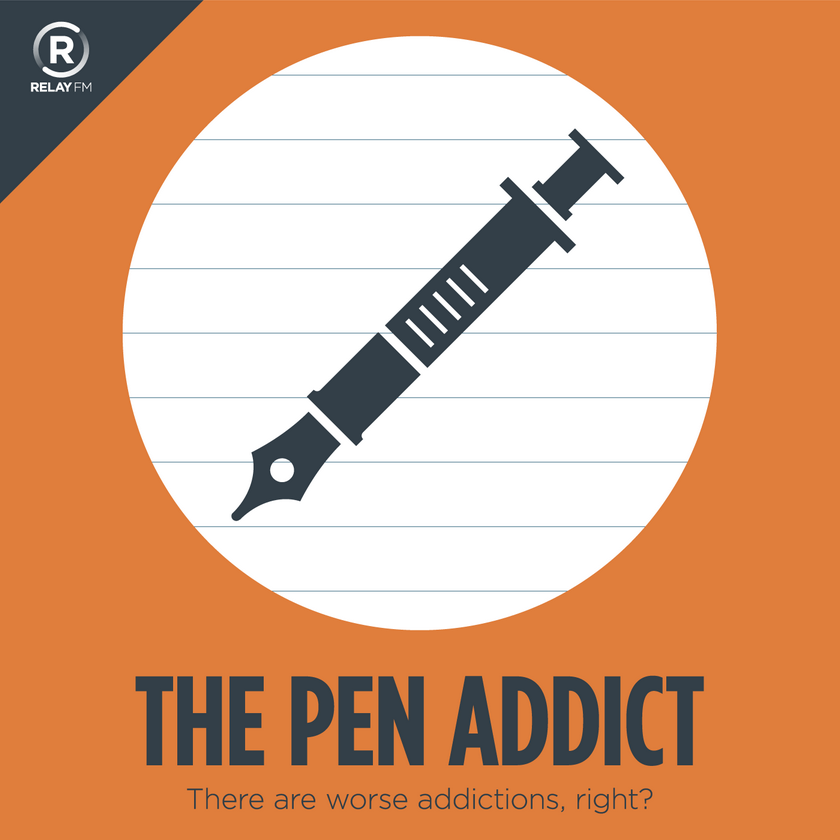 The Pen Addict podcast cover art